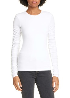 Veronica Beard Clement Ribbed Top