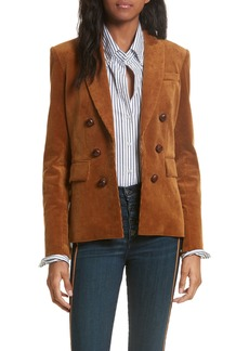 Veronica Beard Cliff Corduroy Cutaway Jacket