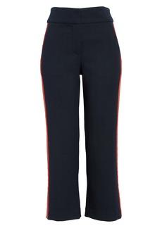 Veronica Beard Cormac Crop Flare Trousers
