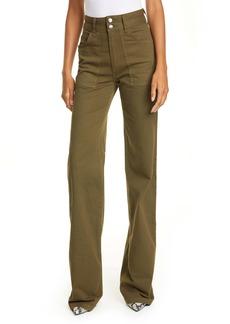 Veronica Beard Crosbie High Waist Cargo Jeans