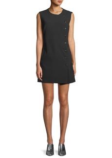Veronica Beard Cutler Sleeveless Crewneck Mini Dress