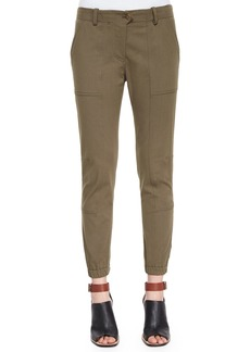 Veronica Beard Field Cargo Ankle Pants