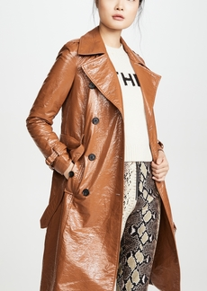 Veronica Beard Finnick Dickey Trench Coat