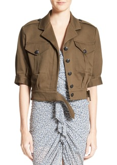 Veronica Beard Fleet Military Jacket