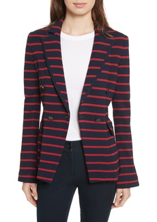 Veronica Beard Fontana Stripe Jacket
