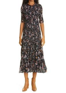 Veronica Beard Gabi Floral Print Dress