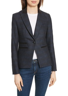 Veronica Beard Gia Peak Lapel Blazer