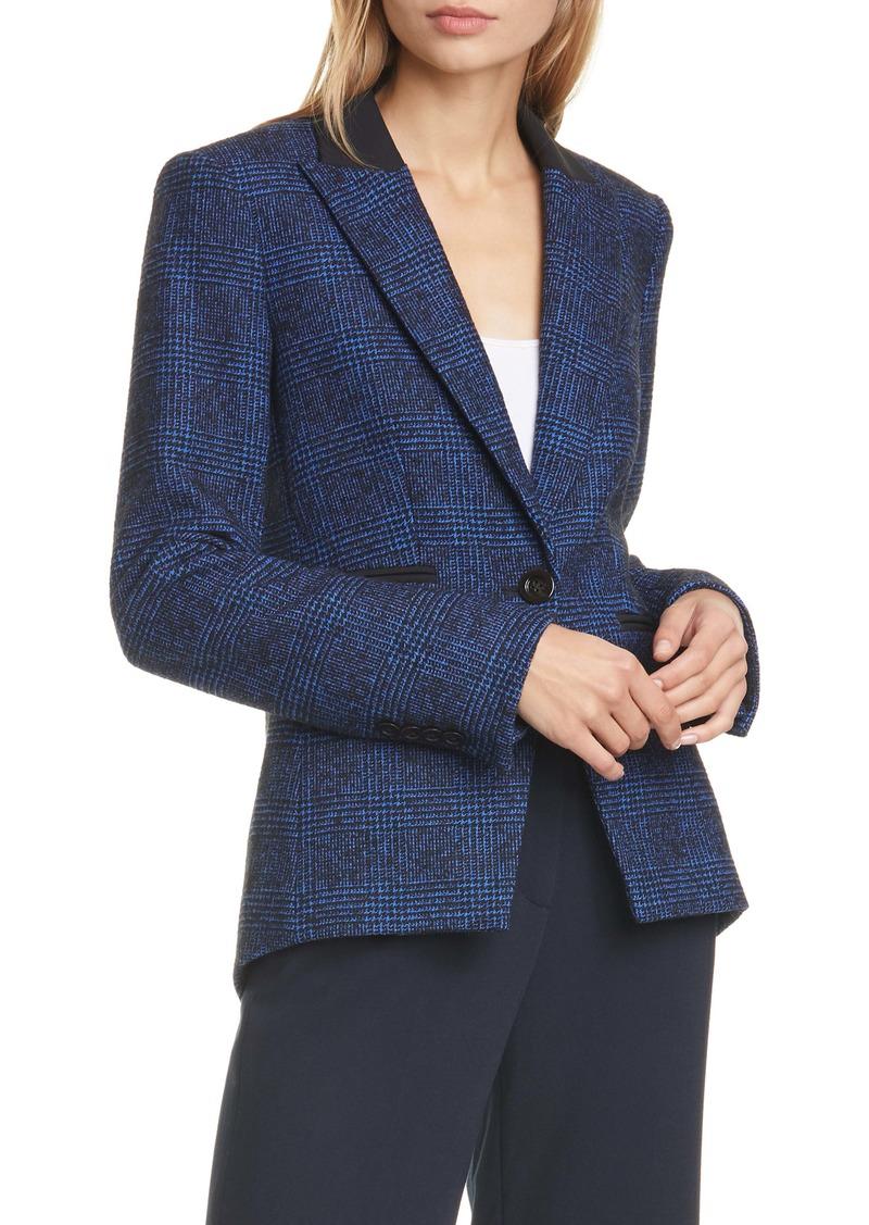 Veronica Beard Gia Tweed Dickey Jacket