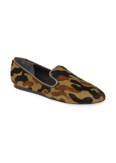Veronica Beard Griffin Zipper Genuine Calf Hair Loafer (Women)