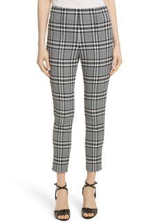 Veronica Beard Honolulu Plaid Crop Pants