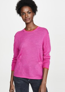 Veronica Beard Jean Charlene Long Sleeved Pullover