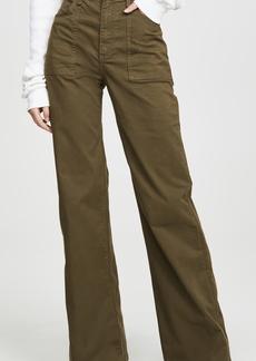 Veronica Beard Jean Crosbie High Rise Wide Leg Pants