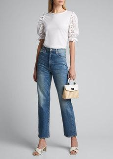 Veronica Beard Jeans Bina Combo Tee