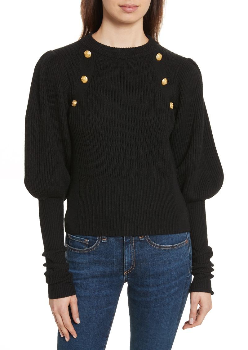 f8651ab0df86 Veronica Beard Veronica Beard Jude Leg of Mutton Sleeve Sweater Now ...
