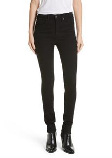 Veronica Beard Kate 10 Skinny Jeans (Raven)