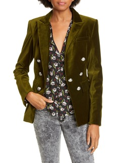 Veronica Beard Lawrence Velvet Dickey Jacket