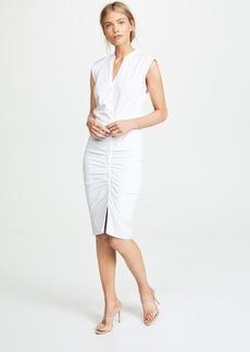 Veronica Beard Long Ruched Dress