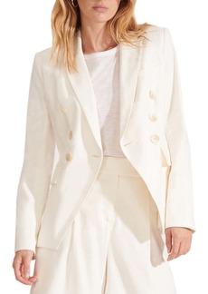 Veronica Beard Lonny Linen Blend Dickey Jacket