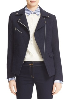 Veronica Beard Lounge Moto Jacket