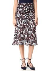 Veronica Beard Madison Flared Midi Skirt
