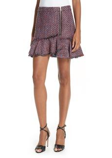 Veronica Beard Madra Tweed Skirt