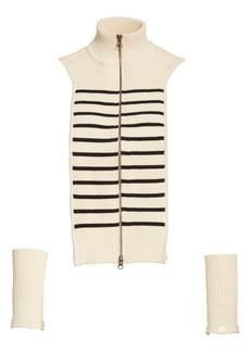 Veronica Beard Mariner Stripe Dickey & Cuffs
