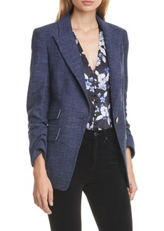 Veronica Beard Martel Herringbone Dickey Jacket