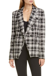 Veronica Beard Miller Embellished Tweed Dickey Jacket