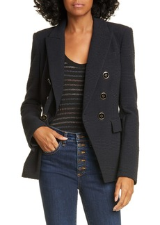 Veronica Beard Miller Textured Dickey Jacket