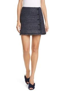 Veronica Beard Mirabelle Tweed Miniskirt