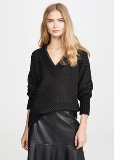Veronica Beard Mirnie V Neck Sweater