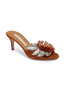 Veronica Beard Nev Embellished Slide Sandal (Women)
