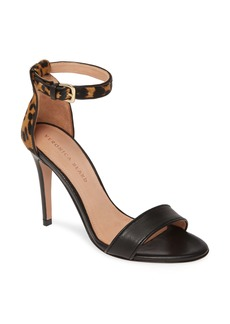 Veronica Beard Roan Leopard Print Genuine Calf Hair Ankle Strap Pump (Women)
