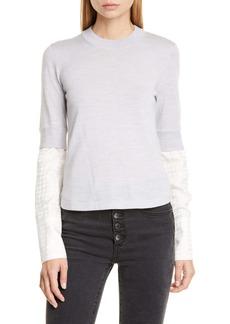 Veronica Beard Roscoe Layered Sweater