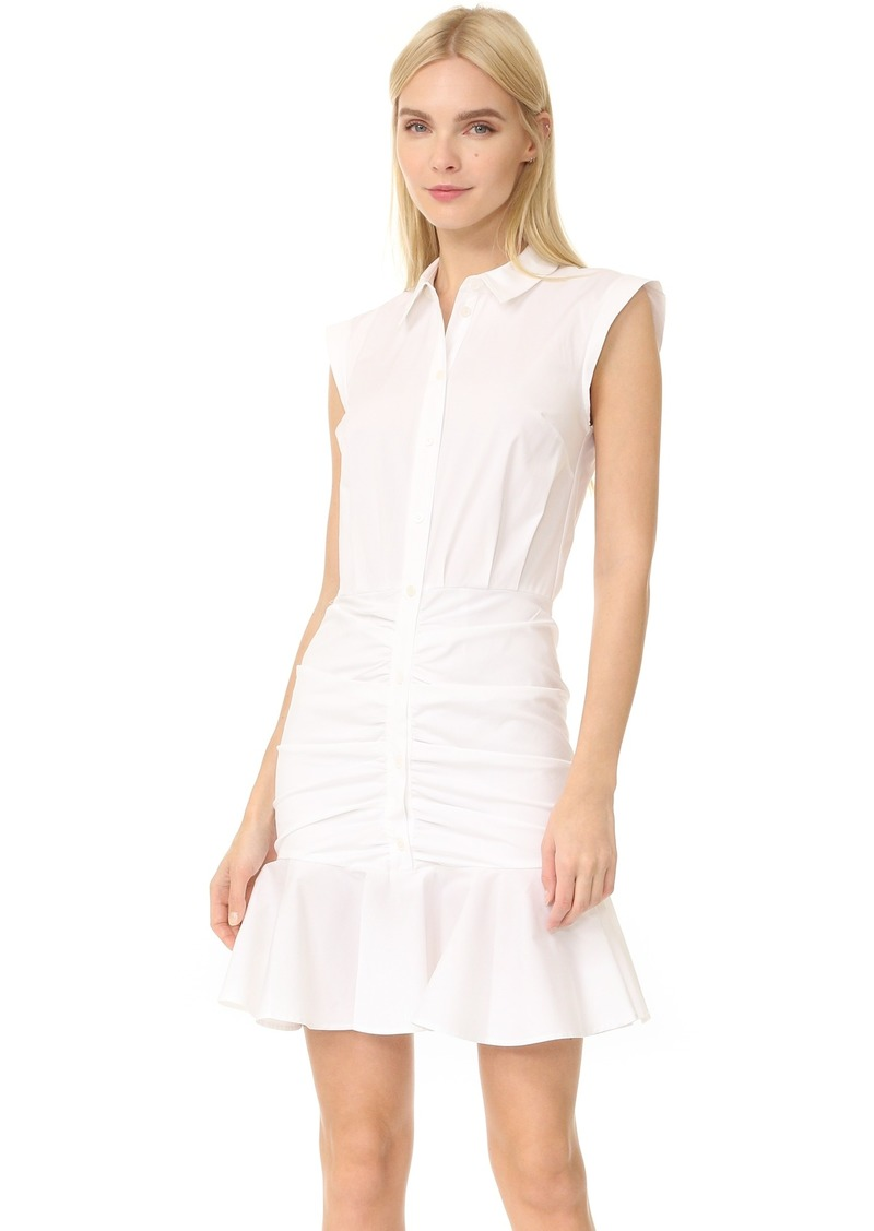 Veronica Beard Veronica Beard Ruched Shirtdress Dresses