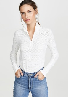 Veronica Beard Silvi Mock Neck Sweater