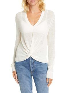 Veronica Beard Soren Linen Blend Sweater