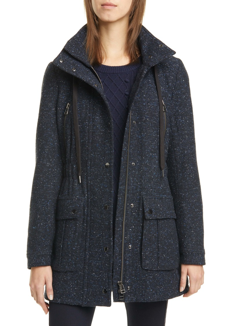 Veronica Beard Tawny Wool Blend Parka (Nordstrom Exclusive)
