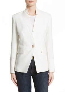 Veronica Beard Turn-Up Collar Jacket
