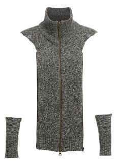 Veronica Beard 'Uptown' Mélange Wool Dickey