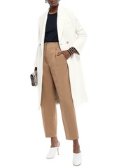 Veronica Beard Woman Fiona Double-breasted Wool-blend Tweed Coat Off-white