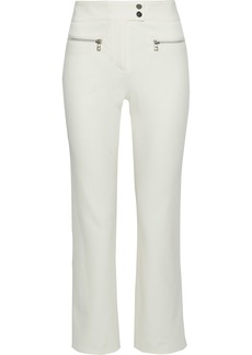 Veronica Beard Woman Mid-rise Bootcut Jeans White