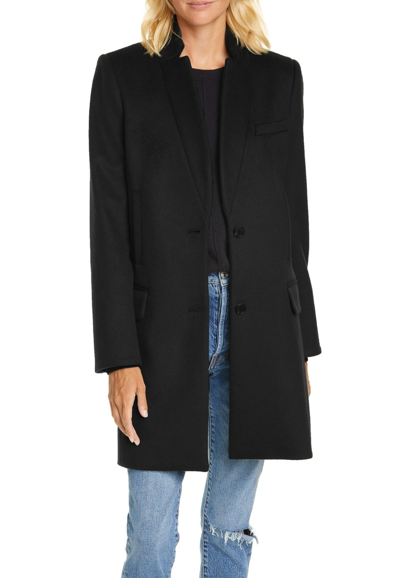 Veronica Beard Wool Blend Car Coat