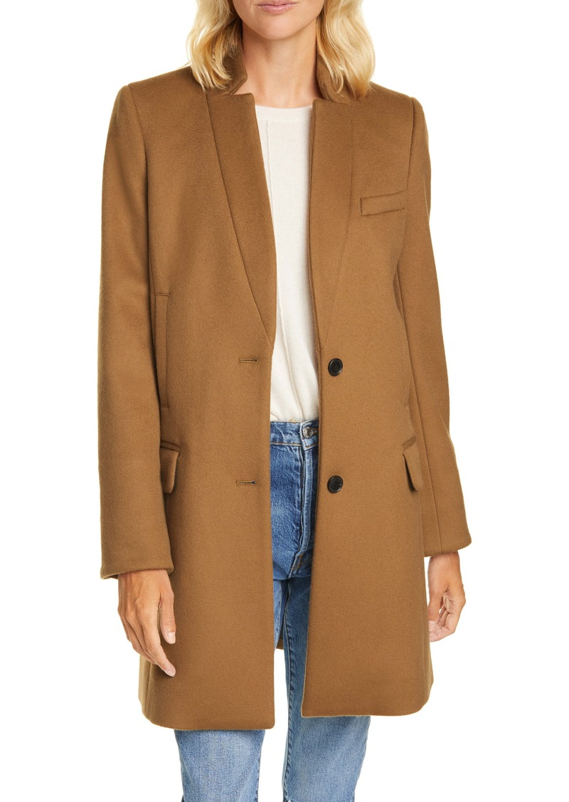 Veronica Beard Wool Blend Car Coat