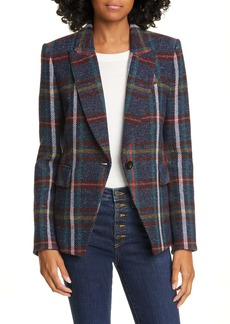 Veronica Beard Zane Plaid Dickey Jacket