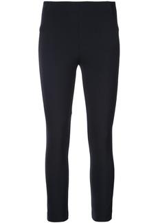 Veronica Beard zip back cropped trousers