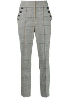 Veronica Beard Virgil houndstooth trousers
