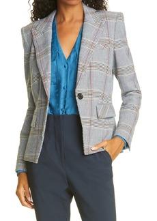 Women's Veronica Beard Danielle Plaid Dickey Jacket