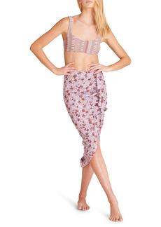 Women's Veronica Beard Hazel Wrap Cover Up Skirt