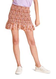 Women's Veronica Beard Melodie Floral Print Miniskirt